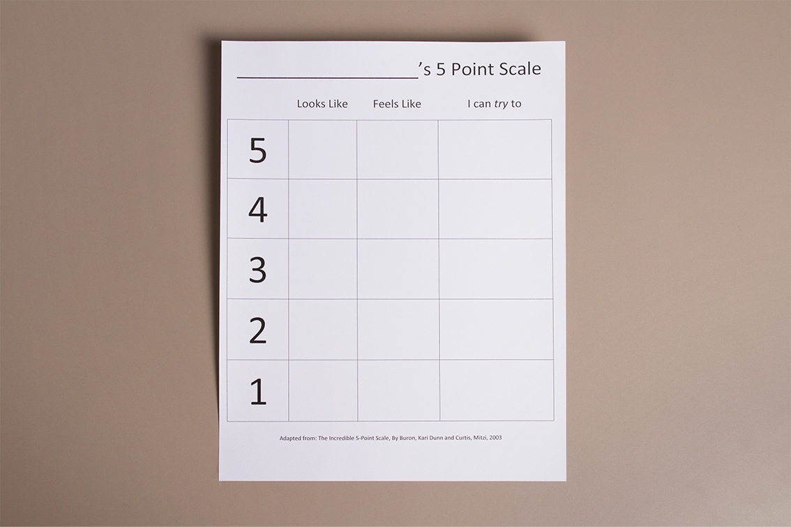 Five Point Scale Autism Circuit